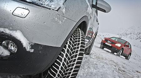 Neumáticos de invierno, mucho más aconsejable de lo que crees