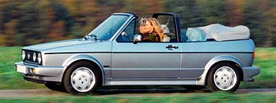 Volkswgen Golf Cabrio 1989