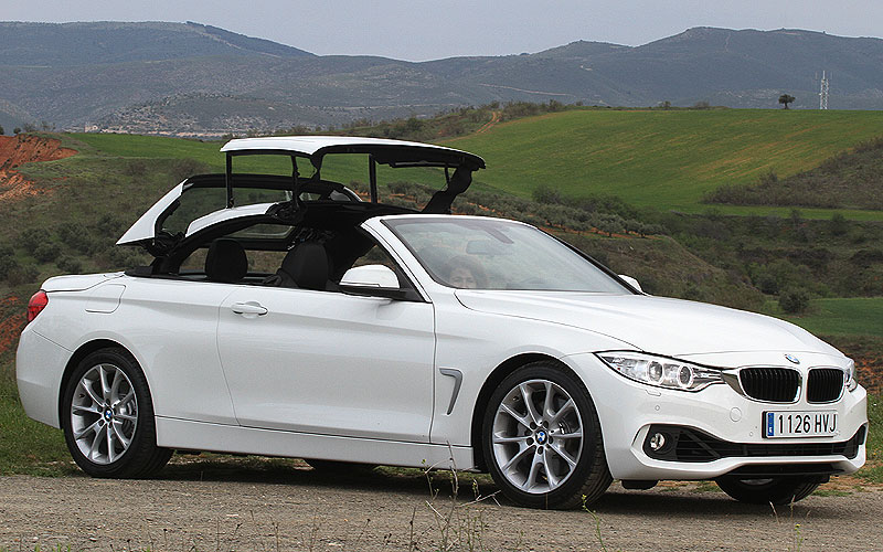 probamos el bmw 435i cabrio steptronic. Black Bedroom Furniture Sets. Home Design Ideas