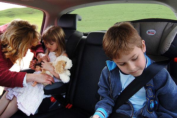5 claves para viajar con niños por carretera