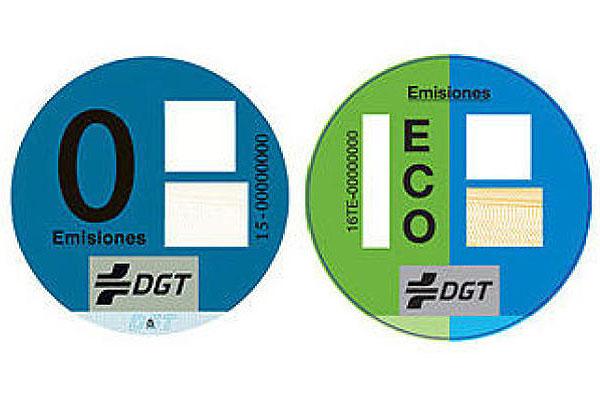 Etiqueta medioambiental, ya es obligatorio llevarla visible
