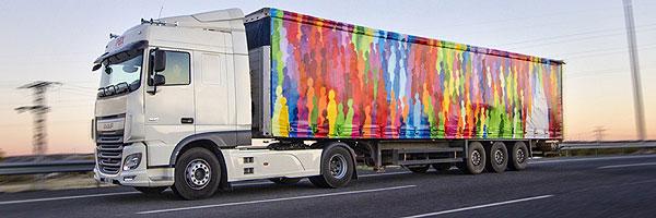 Resultat d'imatges de camiones pintados con arte