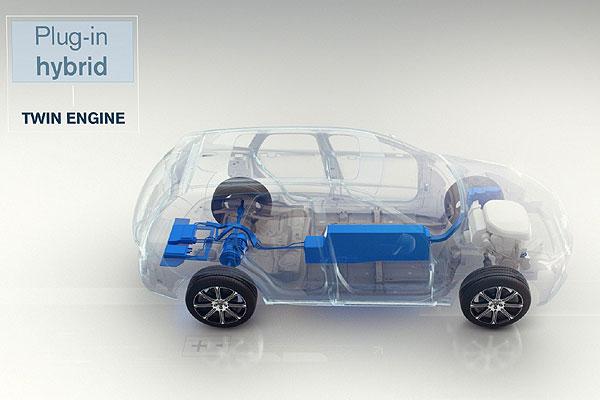 Volvo híibrido enchufable