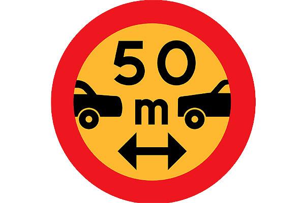 ¿Por qué es tan importante mantener la distancia de seguridad?