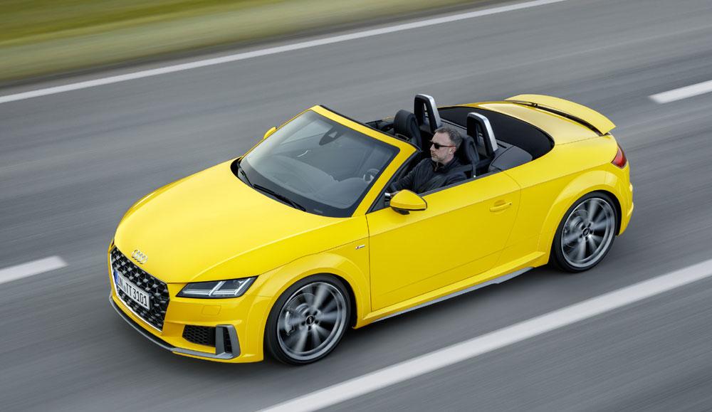 El Audi TT se pone al día en su 20º aniversario