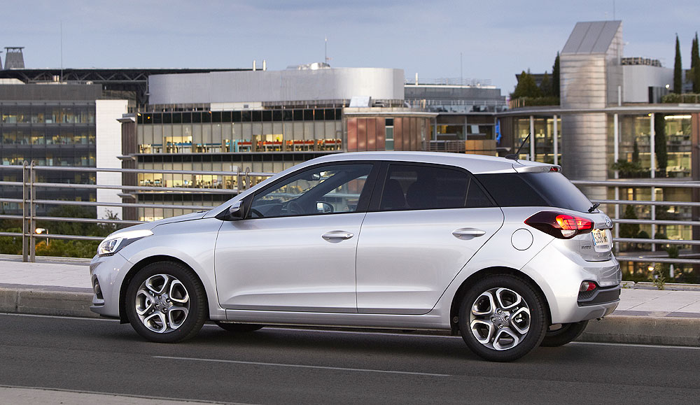 Al volante del nuevo Hyundai i20