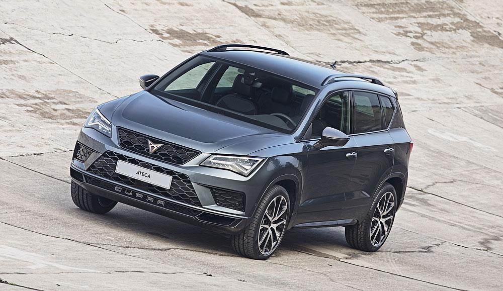 Cupra Ateca, el primer coche de la nueva marca de Seat costará 44.790€