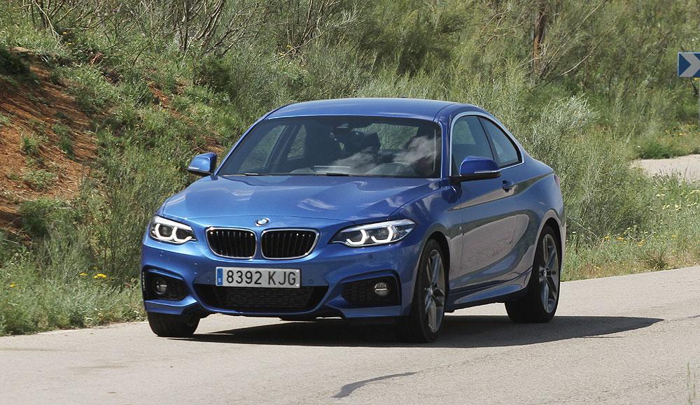 Probamos el BMW 220d Coupé