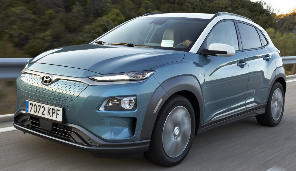 Hyundai Kona EV, un SUV eléctrico con casi 500 km de autonomía