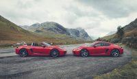 Porsche Boxster T y Cayman T