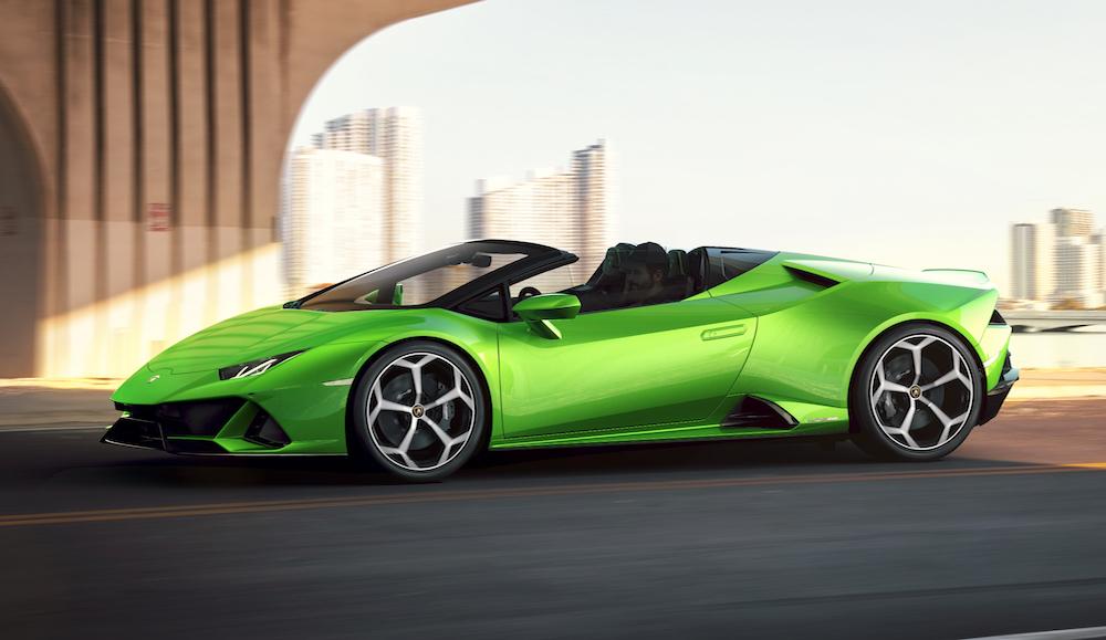 Lamborghini Huracán EVO Spyder, superprestaciones a cielo descubierto