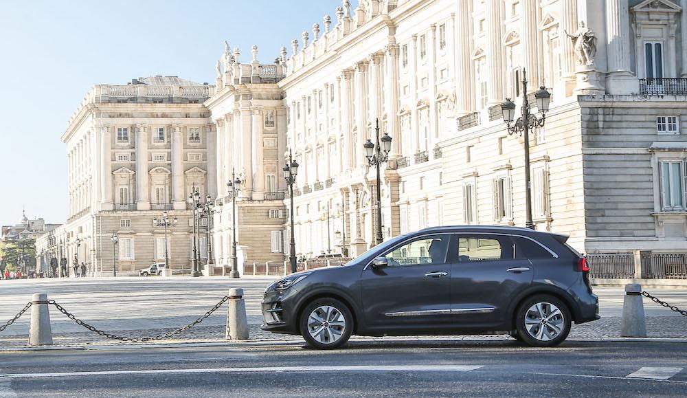 Al volante del Kia e-Niro, SUV 100 % eléctrico con 455 km de autonomía