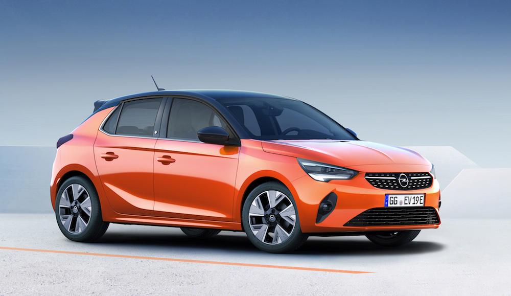 Opel Corsa-e, 100 % eléctrico con 330 km de autonomía
