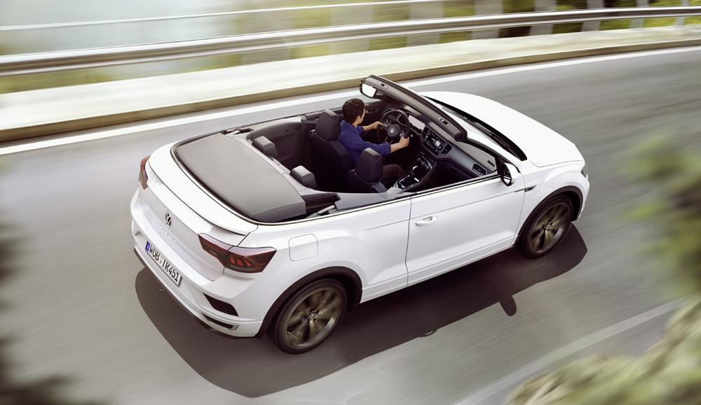 Así es el Volkswagen T-Roc Cabrio, un SUV descapotable muy atractivo