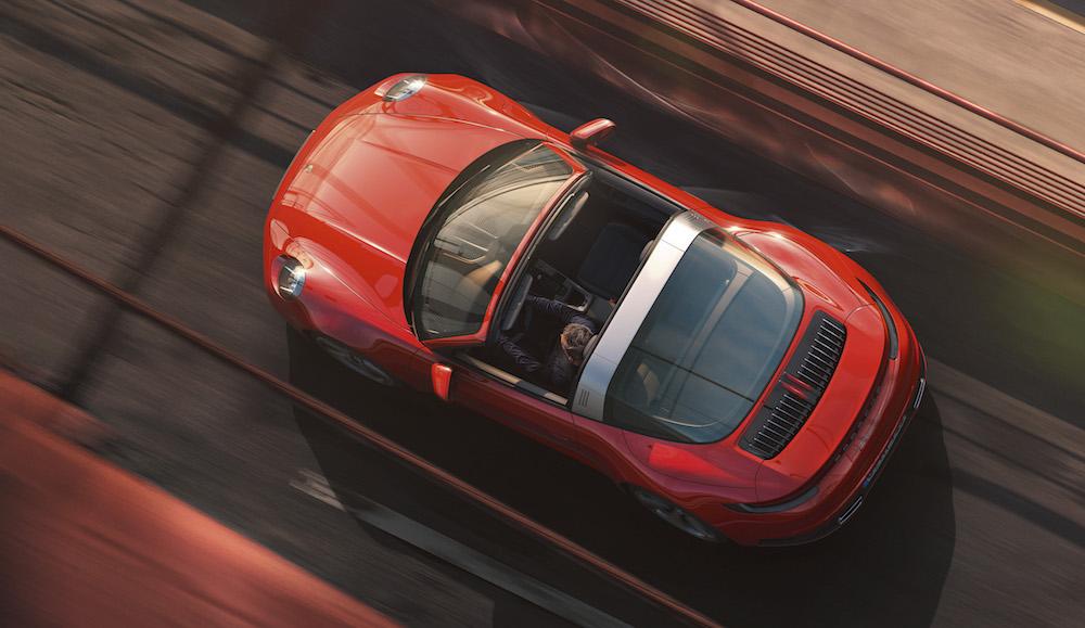 Porsche 911 Targa, un deportivo diferente de 8ª generación