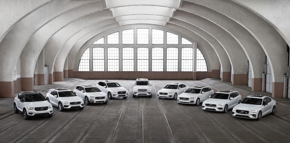 Volvo Recharge: siete modelos y once variantes con cero emisiones