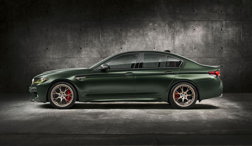 Así es el nuevo M5 CS, el coche más potente de BMW M