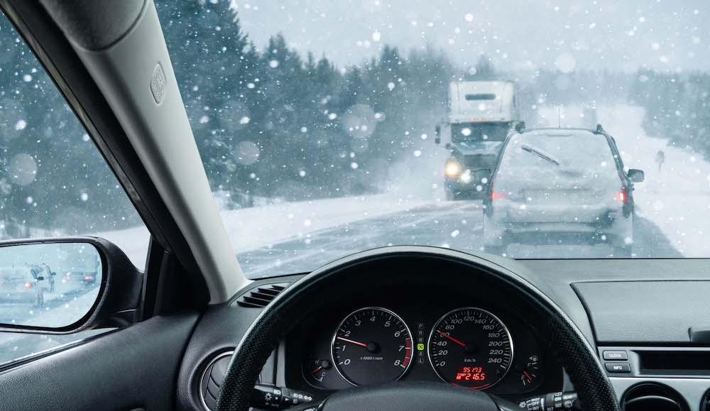 Doce consejos para conducir con seguridad en la ola de frío