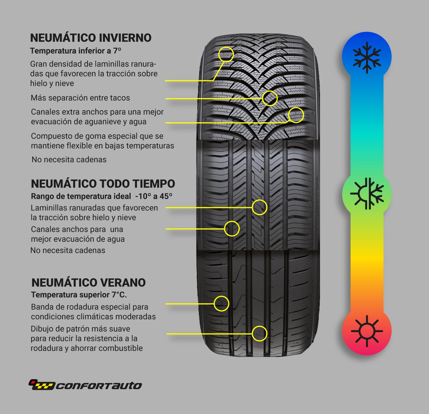 ¿Qué neumático elegir?