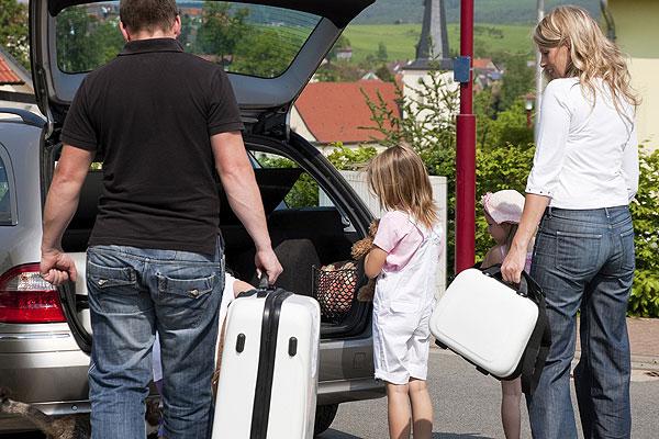 colocar el equipaje