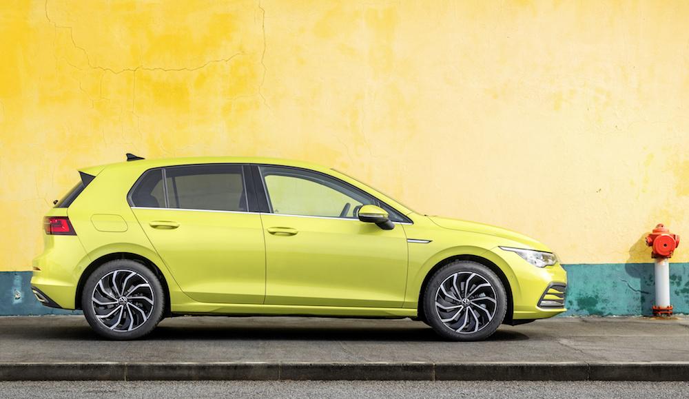 Al volante de la 8ª generación del VW Golf, todo tecnología