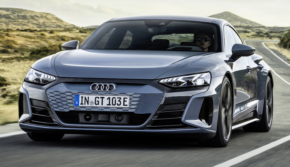 Audi e-tron GT, dinamismo 100 % eléctrico