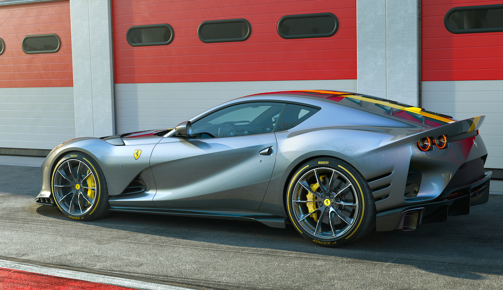 Ferrari 812 Competizione, solo para coleccionistas