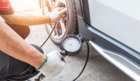 presión incorrecta de los neumáticos